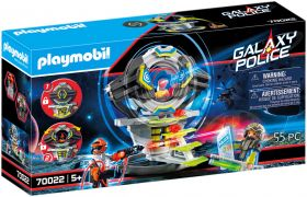 PLAYMOBIL Galaxy Police 70022 Coffre-fort spatial avec code