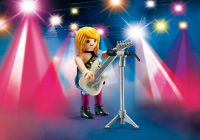 PLAYMOBIL Playmo-Friends 70031 Star du rock