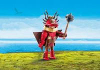 PLAYMOBIL Dragons (DreamWorks) 70043 Rustik en combinaison de vol