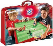 PLAYMOBIL Sports & Action 70046 Terrain de football transportable FC Bayern Munich