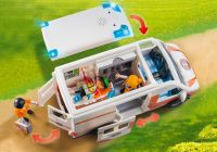 PLAYMOBIL City Life 70049 Ambulance et secouristes