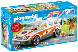 PLAYMOBIL City Life 70050 Voiture et ambulanciers