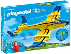 PLAYMOBIL Sports & Action 70057 Planeur aquatique jaune