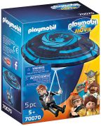 PLAYMOBIL Le Film 70070 Rex Dasher avec parachute