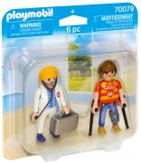 PLAYMOBIL City Life 70079 Médecin et patient