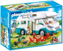 PLAYMOBIL Family Fun 70088 Caravane et vacanciers