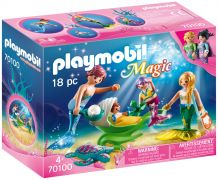 PLAYMOBIL Magic 70100 Famille de sirènes