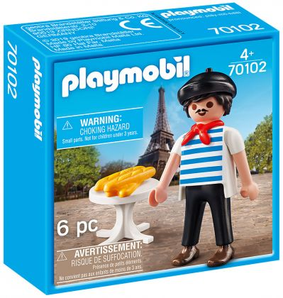 PLAYMOBIL Family Fun 70102 Le Français