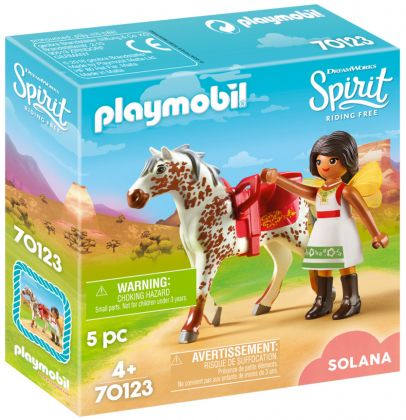 PLAYMOBIL Spirit - Riding Free 70123 Solana voltigeuse