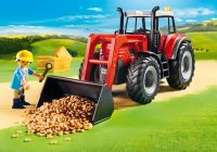 PLAYMOBIL Country 70131 Grand tracteur avec remorque