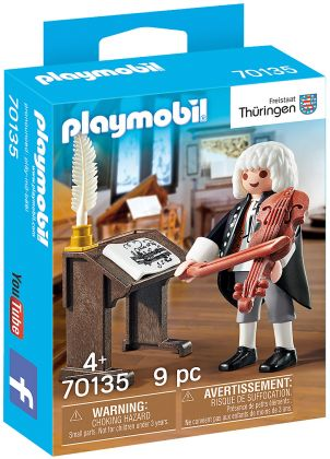 PLAYMOBIL Special Plus 70135 J.S. Bach