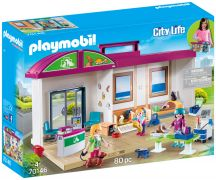 PLAYMOBIL City Life 70146 Clinique vétérinaire transportable