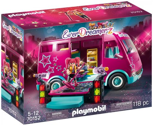 PLAYMOBIL EverDreamerZ 70152 Bus de tournée