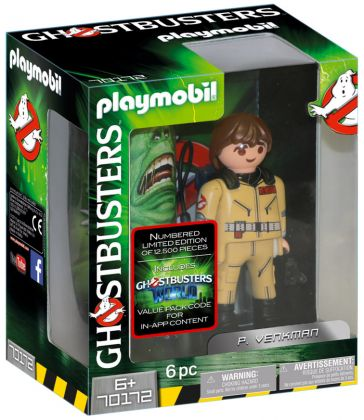 PLAYMOBIL Ghostbusters 70172 Ghostbusters Edition Collector P. Venkman