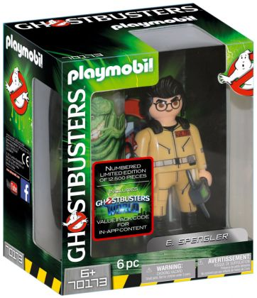 PLAYMOBIL Ghostbusters 70173 Ghostbusters Edition Collector E. Spengler