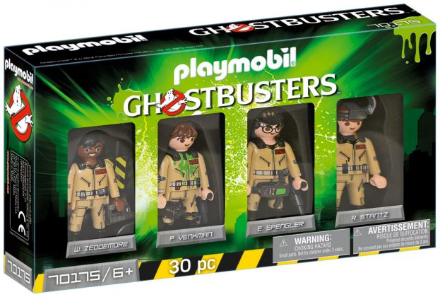 PLAYMOBIL Ghostbusters 70175 Ghostbusters Edition Collector Ghostbusters