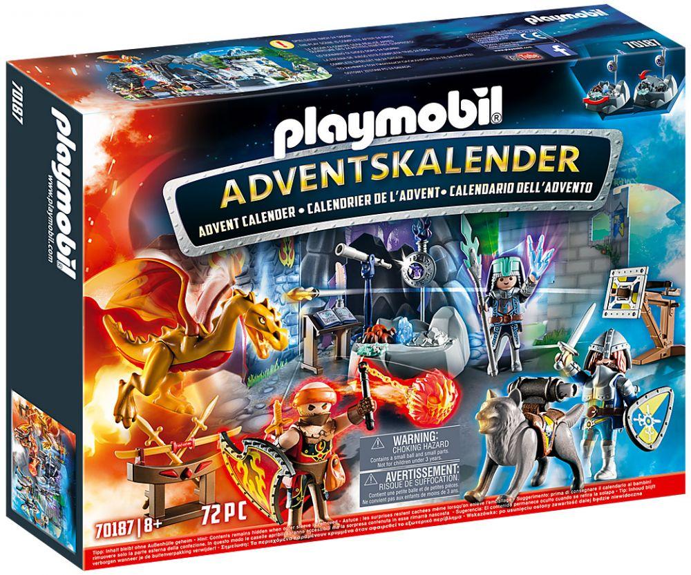 Calendrier L Avent Playmobil.Playmobil Christmas 70187 Calendrier De L Avent Duel De Chevaliers
