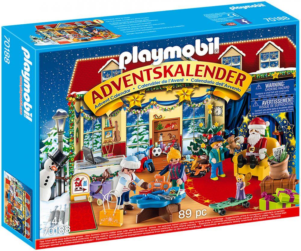 Calendrier L Avent Playmobil.Playmobil Christmas 70188 Calendrier De L Avent Boutique De Jouets