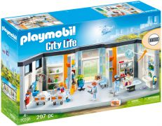 PLAYMOBIL City Life 70191 Clinique équipée