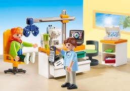 PLAYMOBIL City Life 70197 Cabinet d'ophtalmologie