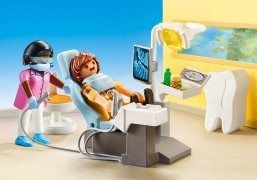 PLAYMOBIL City Life 70198 - Dentiste pas cher