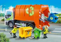 PLAYMOBIL City Life 70200 Camion de recyclage des ordures