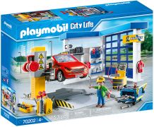 PLAYMOBIL City Life 70202 Garage automobile