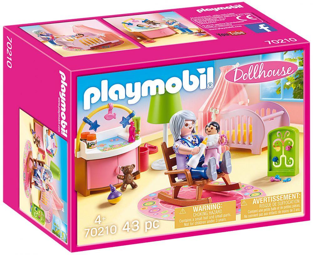 PLAYMOBIL Dollhouse 70210 Chambre de bébé