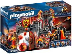 PLAYMOBIL Novelmore 70221 Forteresse volcanique des Burnham Raiders