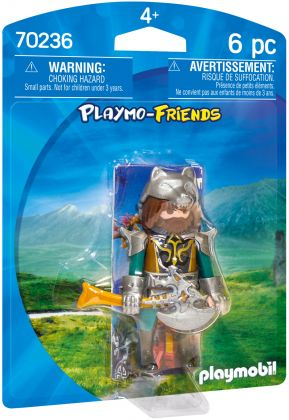 PLAYMOBIL Playmo-Friends 70236 Guerrier du Loup