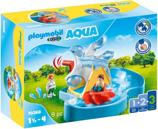 PLAYMOBIL 123 70268 Aqua : Carrousel aquatique