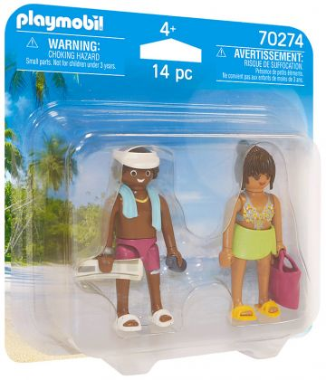 PLAYMOBIL Family Fun 70274 Couple de vacanciers