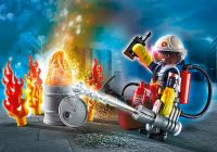 PLAYMOBIL City Action 70291 Set cadeau Pompier