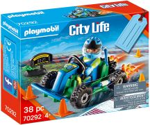 PLAYMOBIL City Life 70292 Set cadeau Pilote de kart