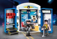 PLAYMOBIL City Action 70306 Coffre Commissariat de police