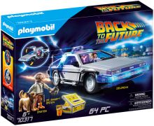 PLAYMOBIL Back to the Future 70317 DeLorean (Retour vers le Futur)
