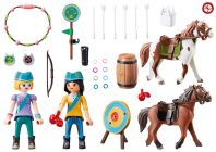 PLAYMOBIL Spirit - Riding Free 70331 Base d'entrainement