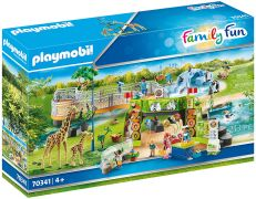PLAYMOBIL Family Fun 70341 Parc Animalier