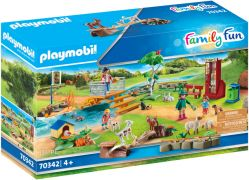 PLAYMOBIL Family Fun 70342 Jardin Animalier