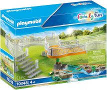 PLAYMOBIL Family Fun 70348 Extension pour parc animalier
