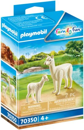 PLAYMOBIL Family Fun 70350 Alpaga et son petit