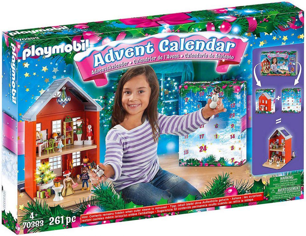 Calendrier De L Avent Playmobil Pas Cher.Playmobil Christmas 70383 Calendrier De L Avent Pere Noel Dans La Ville