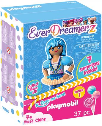 PLAYMOBIL EverDreamerZ 70386 Clare - Candy World