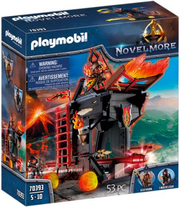 PLAYMOBIL Novelmore 70393 Tour d'attaque mobile des Burnham Raiders