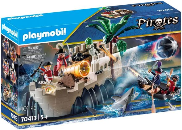PLAYMOBIL Pirates 70413 Bastion des soldats