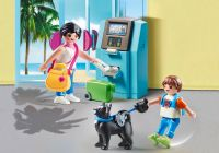 PLAYMOBIL Family Fun 70439 Vacanciers et distributeur automatique