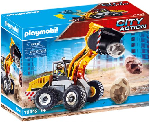 PLAYMOBIL City Action 70445 Chargeuse sur pneus