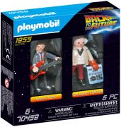 PLAYMOBIL Back to the Future 70459 Marty Mcfly et Dr. Emmett Brown (Retour vers le futur)