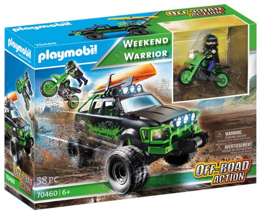 PLAYMOBIL Action 70460 Week-end Warrior