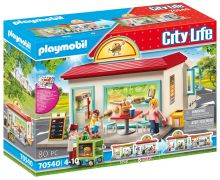 PLAYMOBIL City Life 70540 Mon magasin de hamburgers